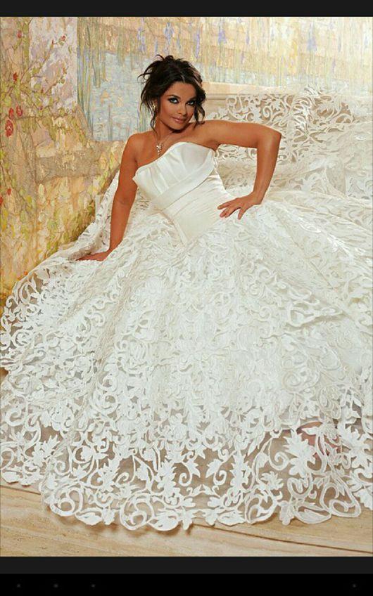 Одежда и аксессуары ручной работы. Ярмарка Мастеров - ручная работа. Купить Роскошное свадебное платье. Handmade. Белый, свадебное платье