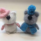 Куклы и игрушки ручной работы. Ярмарка Мастеров - ручная работа Два медведя. Handmade.