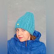Аксессуары handmade. Livemaster - original item hat with braids. Handmade.