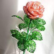 Цветы и флористика ручной работы. Ярмарка Мастеров - ручная работа Роза из рубки. Handmade.