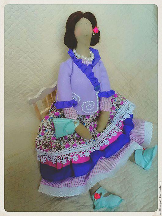 Куклы Тильды ручной работы. Ярмарка Мастеров - ручная работа. Купить Куколка Анфиса. Handmade. Интерьерная кукла, недорогой подарок