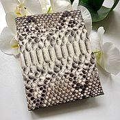 Канцелярские товары handmade. Livemaster - original item Diary from Python. A gift for any occasion. Handmade.