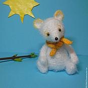 Куклы и игрушки ручной работы. Ярмарка Мастеров - ручная работа Мышонок вязаный...И капелька солнца)). Handmade.