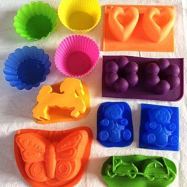 Материалы для творчества ручной работы. Ярмарка Мастеров - ручная работа Формы для мыла бывшие не долго в употреблении. Handmade.
