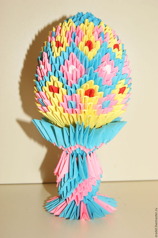 Подарки на Пасху ручной работы. Ярмарка Мастеров - ручная работа. Купить Пасхальное яйцо №1. Handmade. Разноцветный