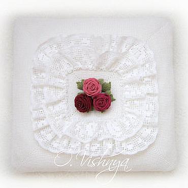 Textiles handmade. Livemaster - original item Decorative pillow