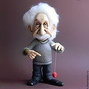 Куклы и игрушки ручной работы. Ярмарка Мастеров - ручная работа Эйнштейн. Handmade.