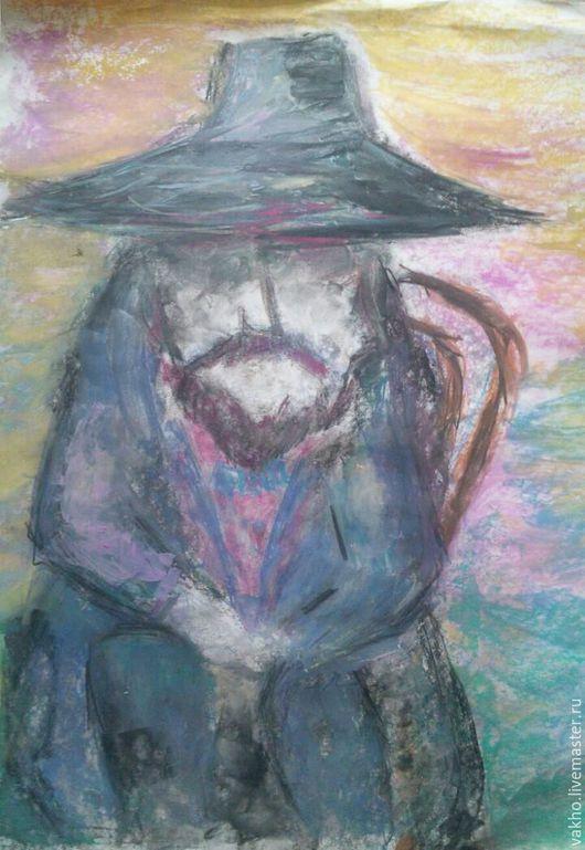 Абстракция ручной работы. Ярмарка Мастеров - ручная работа. Купить Совесть. Handmade. Комбинированный, пастель, абстракция, картина пастелью