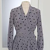 Винтаж ручной работы. Ярмарка Мастеров - ручная работа Платье винтажное размер 40/42 русский. Handmade.