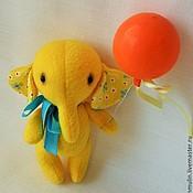 Куклы и игрушки ручной работы. Ярмарка Мастеров - ручная работа Солнечный слоник. Handmade.