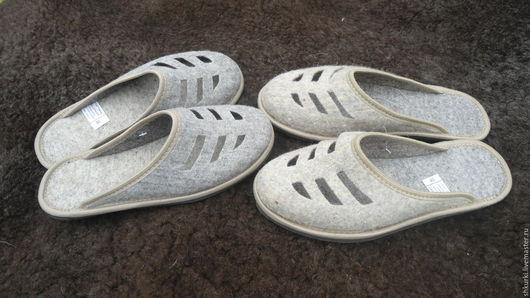 Обувь ручной работы. Ярмарка Мастеров - ручная работа. Купить Женские войлочные тапочки. Handmade. Тапочки, тапочки женские