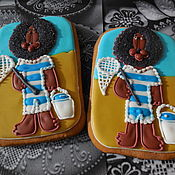 Сувениры и подарки handmade. Livemaster - original item Gingerbread ginger. Gingerbread cartoon characters. Boniface.. Handmade.