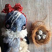 Куклы и игрушки ручной работы. Ярмарка Мастеров - ручная работа Птичка Карамелька. Handmade.