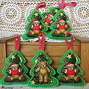Подарки к праздникам handmade. Livemaster - original item Christmas decoration from felt