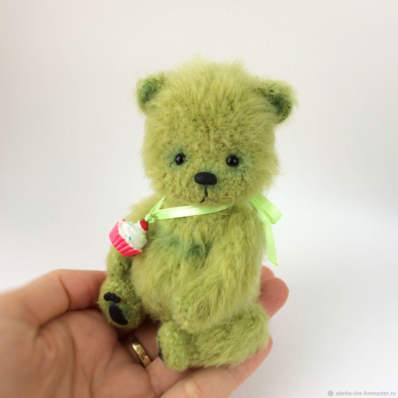 Мишка вязаный, вязаный мишка, мишка вязаный крючком, подарок на День учителя
