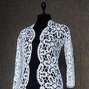 Одежда handmade. Livemaster - original item Cardigan dressy. Briggsae lace. Handmade.