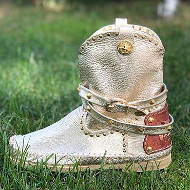 Обувь ручной работы. Ярмарка Мастеров - ручная работа Сапожки ручной работы Volare. Handmade.