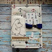 """Блокноты ручной работы. Ярмарка Мастеров - ручная работа Блокнот (moomin book)  """"Жизнь - это странствие"""". Handmade."""