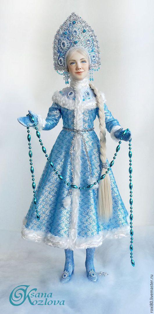 Народные куклы ручной работы. Ярмарка Мастеров - ручная работа. Купить авторская кукла Снегурочка. Handmade. Снегурочка, купить снегурочку