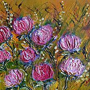 Картины и панно handmade. Livemaster - original item Flowers for the beloved+gift of the author.. Handmade.