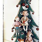 Куклы и игрушки ручной работы. Ярмарка Мастеров - ручная работа Кукла из ваты «Дети». Handmade.