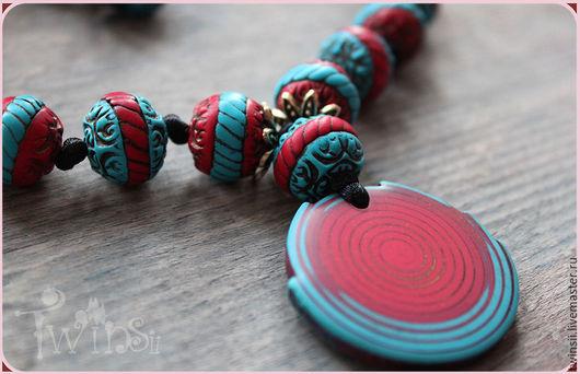 Колье, бусы ручной работы. Ярмарка Мастеров - ручная работа. Купить Красивое Ожерелье В море Бохо ожерелье украшение Восточный стиль. Handmade.