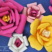 Свадебный салон ручной работы. Ярмарка Мастеров - ручная работа объемные цветы для декора. Handmade.