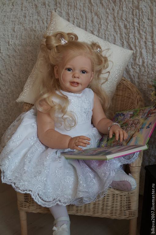 Куклы-младенцы и reborn ручной работы. Ярмарка Мастеров - ручная работа. Купить Маленькая принцесса. Handmade. Бордовый, генезис