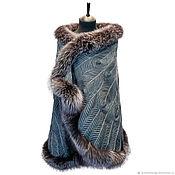 Wraps handmade. Livemaster - original item Tippet Firebird designer Olga Lavrenteva. Handmade.