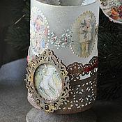 Подарки к праздникам handmade. Livemaster - original item Candle holder ,,angel-Wings,. Handmade.