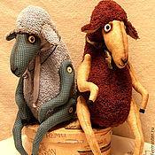 Куклы и игрушки ручной работы. Ярмарка Мастеров - ручная работа овечки:Э-эник и Бэ-эник. Handmade.