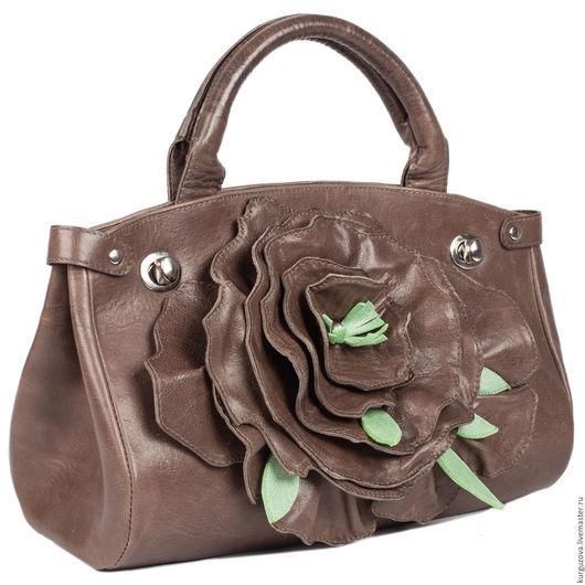 Женские сумки ручной работы. Ярмарка Мастеров - ручная работа. Купить Прикс. Handmade. Коричневый, сумка из натуральной кожи