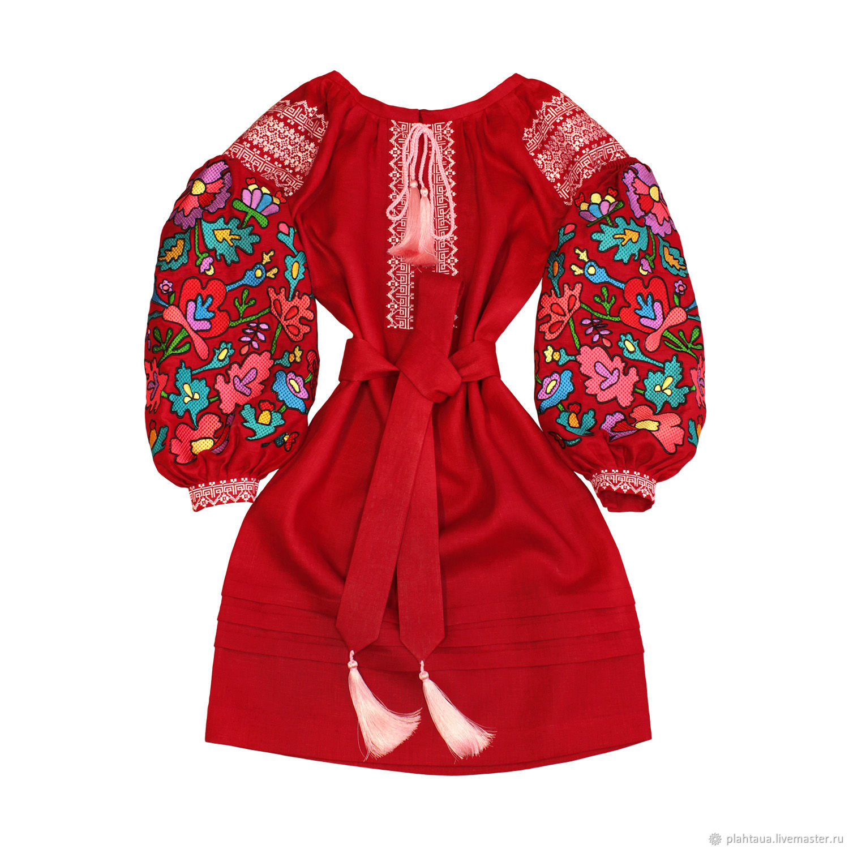 """Красное платье """"Цветочная Нимфа"""", Dresses, Kiev,  Фото №1"""