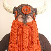 Аксессуары ручной работы. Ярмарка Мастеров - ручная работа шапка викинг БОЛЬШОЙ рыжий. Handmade.