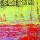 Абстракция ручной работы. Абстрактная живопись. Glow.. Анна. Интернет-магазин Ярмарка Мастеров. Красный, абстрактная картина, абстрактная живопись