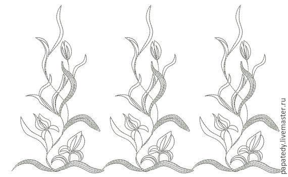 фестоны, бордюр дизайн машинной вышивки, Инструменты для вышивки, Кишинев,  Фото №1