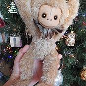 Куклы и игрушки ручной работы. Ярмарка Мастеров - ручная работа Тедди игрушка Обезьянка. Handmade.