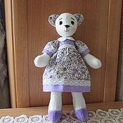 Куклы и игрушки handmade. Livemaster - original item Bear Alenka. Handmade.