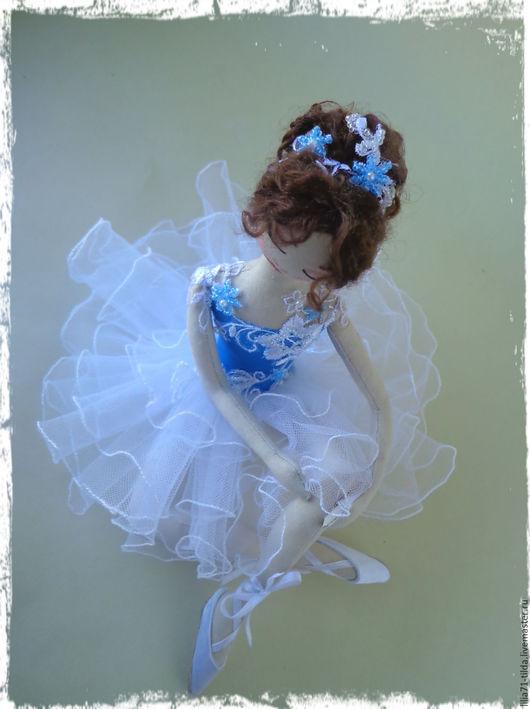 Коллекционные куклы ручной работы. Ярмарка Мастеров - ручная работа. Купить Интерьерные куклы. Handmade. Синий, балет, Овечьи кудри