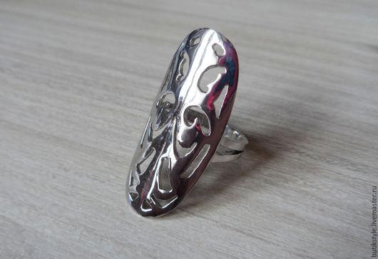 """Кольца ручной работы. Ярмарка Мастеров - ручная работа. Купить Серебряное кольцо """"Лапландия"""". Handmade. Серебро 925 пробы"""