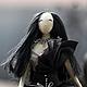 Текстильная кукла тряпиенс - Готика Лена+Вика=Орпики на Ярмарке Мастеров