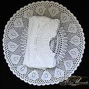 Работы для детей, ручной работы. Ярмарка Мастеров - ручная работа Платье белое для девочки. Handmade.