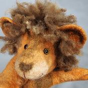 Куклы и игрушки handmade. Livemaster - original item Lion. Glove puppet of Bi-BA-Bo.. Handmade.