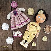 Куклы и игрушки ручной работы. Ярмарка Мастеров - ручная работа Кукла с комплектом одежды. Handmade.