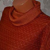 Одежда ручной работы. Ярмарка Мастеров - ручная работа Джемпер Рыжая осень. Handmade.