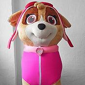 "Дизайн и реклама handmade. Livemaster - original item Skye ""PAW Patrol"". Life-size puppet. Handmade."