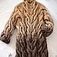 """Кофты и свитера ручной работы. Ярмарка Мастеров - ручная работа. Купить Вязаный свитер """"Бежевый"""". Handmade. Кардиган, переход цветов"""