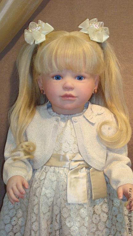 Куклы-младенцы и reborn ручной работы. Ярмарка Мастеров - ручная работа. Купить Кукла реборн. Handmade. Бежевый, реборны