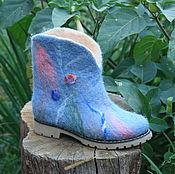 Обувь ручной работы. Ярмарка Мастеров - ручная работа Аква. Handmade.