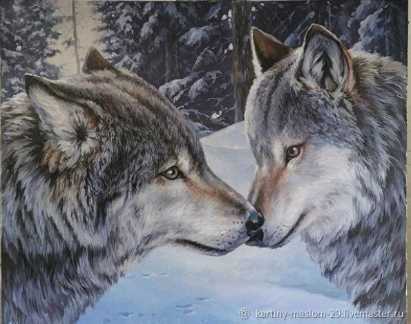 Волки, Картины, Симферополь,  Фото №1